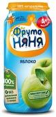 Пюре ФрутоНяня из яблок (с 4 месяцев) стеклянная банка 250 г, 1 шт.