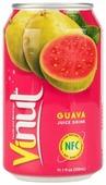 Напиток сокосодержащий Vinut Безалкогольный со вкусом розовой гуавы
