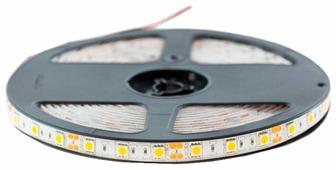 Светодиодная лента URM-LED 5050-60led-12V-14.4W-10-12LM-3000K-IP65-10mm 5 м