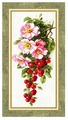 Золотое Руно Набор для вышивания Спелая вишня 46,5 х 21,7 см (ФС-004)