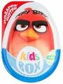 Шоколадное яйцо Kids Box Angry Birds с подарком внутри, молочный шоколад