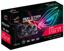 Видеокарта ASUS ROG Radeon RX 5700 XT 1170 MHz PCI-E 4.0 8192MB 14000MHz 256 bit HDMI 3xDisplayPort HDCP STRIX GAMING OC