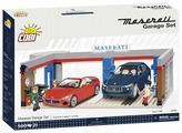 Конструктор Cobi Maserati 24568 Garage Set