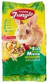 Корм для кроликов Happy Jungle 5 in 1 Daily Menu Основной рацион