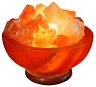 Солевая лампа ЭКО ПЛЮС Ваза с камнями