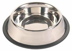 Миска TRIXIE 24854 с резинкой для собак 1.75 л