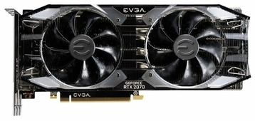 Видеокарта EVGA GeForce RTX 2070 1725MHz PCI-E 3.0 8192MB 14000MHz 256 bit HDMI HDCP XC ULTRA GAMING