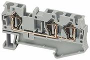 Зажим клеммный проходной Schneider Electric NSYTRR43BL
