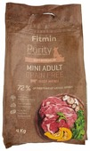 Корм для собак Fitmin говядина (для мелких пород)