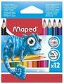 Maped Цветные карандаши Pulse Mini 12 цветов (832752)