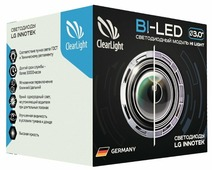 Лампа автомобильная биксеноновая ClearLight KBMCLG3BL1 H4/H7 35W 1 шт.