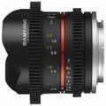 Объектив Samyang 8mm T3.1 V-DSLR UMC Fish-eye II Fujifilm X