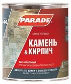 Лак Parade L40 Камень & Кирпич (0.75 л)
