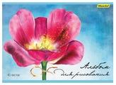 Альбом для рисования Silwerhof Акварельный цветок 29.7 х 21 см (A4), 100 г/м², 40 л.