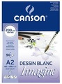 Альбом Canson Imagine 59.4 х 42 см (A2), 200 г/м², 50 л.
