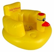 Кресло надувное Baby Swimmer Уточка BSC-01