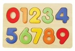 Рамка-вкладыш Mapacha Изучаем цифры (76686), 10 дет.