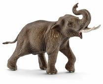 Фигурка Schleich Азиатский слон самец 14754