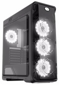 Компьютерный корпус GameMax StarLight Black/white