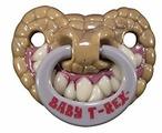 Пустышка силиконовая ортодонтическая Billy-BoB T-Rex (1 шт)