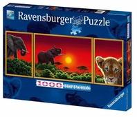 Пазл Ravensburger Африканские животные (19991), 1000 дет.