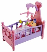 Shantou Gepai Кроватка для куклы Dream Sweet Bed (008-10)