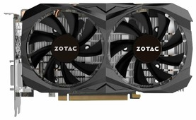 Видеокарта ZOTAC GeForce GTX 1060 1582Mhz PCI-E 3.0 3072Mb 8000Mhz 192 bit DVI HDMI HDCP AMP Core Edition