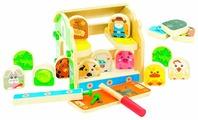 Винтовой конструктор Мир деревянных игрушек Д432 Ферма