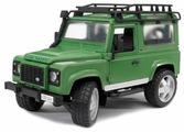 Внедорожник Bruder Land Rover Defender (02-590) 1:16 28 см