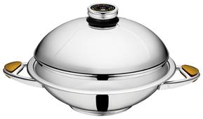 Сковорода-вок Zepter Masterpiece CookArt WOK Z-W2424-SC 24 см с крышкой