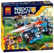 Конструктор BELA Nexo Knight 10488 Устрашающий разрушитель Клэя