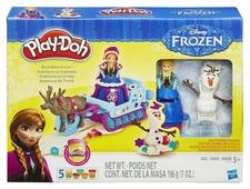 Масса для лепки Play-Doh Холодное сердце - Приключение Анны на санях (B1860)