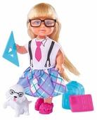 Кукла Simba Еви со школьными принадлежностями, 12 см, 5736330