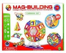 Магнитный конструктор Mag-Building Carnival GB-W58