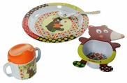 Комплект посуды Ebulobo Мишка (04EB0017)