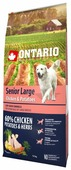 Корм для собак Ontario Senior Large Chicken & Potatoes