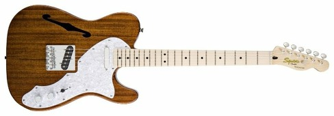 Полуакустическая гитара Squier Classic Vibe Telecaster Thinline