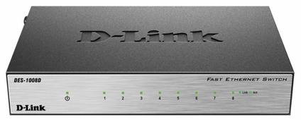 Коммутатор D-link DES-1008D/L2