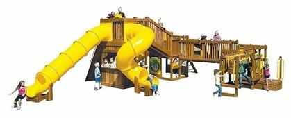Домик Rainbow Play Systems Design 4C