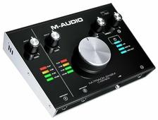 Внешняя звуковая карта M-Audio M-Track 2x2M