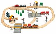 """Brio Стартовый набор, """"Грузоперевозки с самодвижущимся поездом"""", 33165"""
