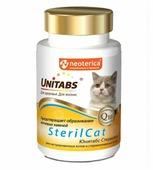 Добавка в корм Unitabs SterilCat для кастрированных котов и стерилизованных кошек таблетки