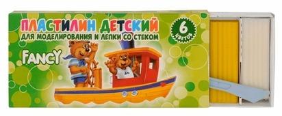 Пластилин Action! Fancy 6 цветов 120 грамм (FMC6-120)