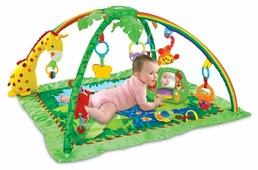 Развивающий коврик Funkids Delux Play Gym Giraffe (8813)
