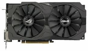 Видеокарта ASUS Radeon RX 570 1300MHz PCI-E 3.0 4096MB 7000MHz 256 bit 2xDVI HDMI HDCP Strix OC Gaming