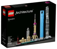 Конструктор LEGO Architecture 21039 Шанхай