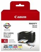 Набор картриджей Canon PGI-1400 BK/C/M/Y XL Multipack (9185B004)