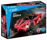 Электромеханический конструктор Double Eagle CaDA Technic C51009W Супер автомобиль