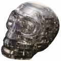 3D-пазл Crystal Puzzle Черный череп (90217), 49 дет.
