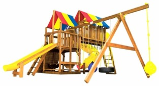 Домик Rainbow Play Systems Sunshine Clubhouse V Magnificent